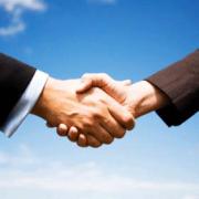 [de] handshake foto